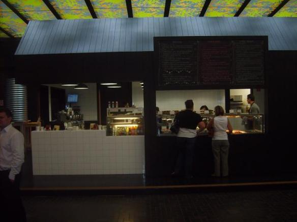 front view of the tuck shop cafe bourke st melbourne