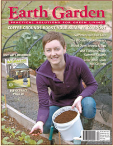coffee grounds earth garden magazine