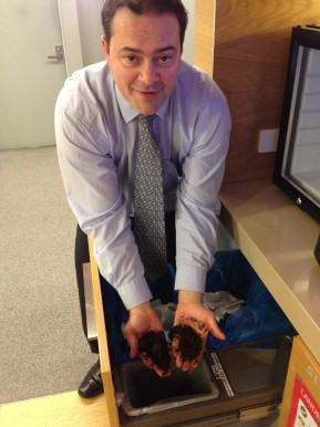 Coffee Grounds Collecting at the Office – GettingStarted
