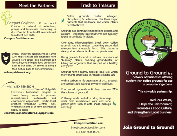 compost coalition coffee grounds collection
