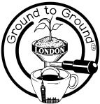 london ground to ground coffee logo