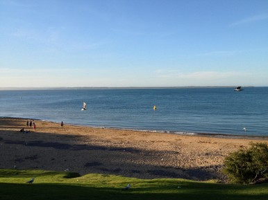 Cowes beach at phillip island