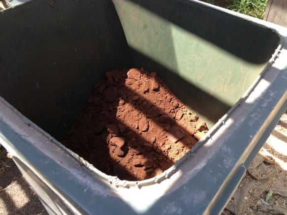 coffee grounds composting farm