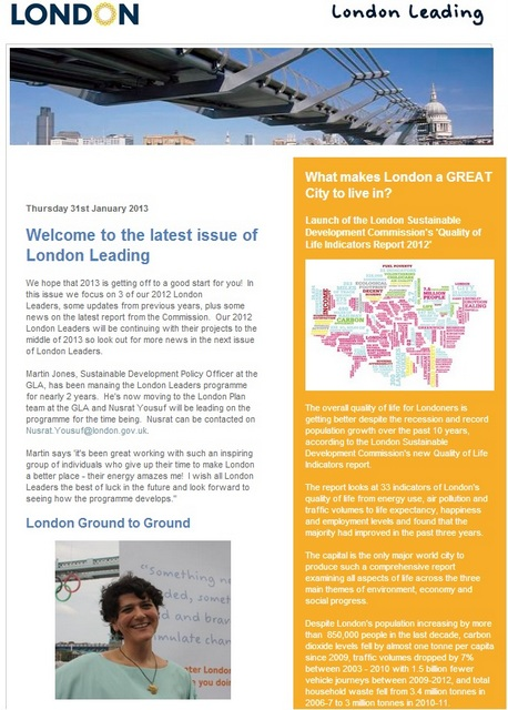 london leaders newsletters features Deborah Rothenberg