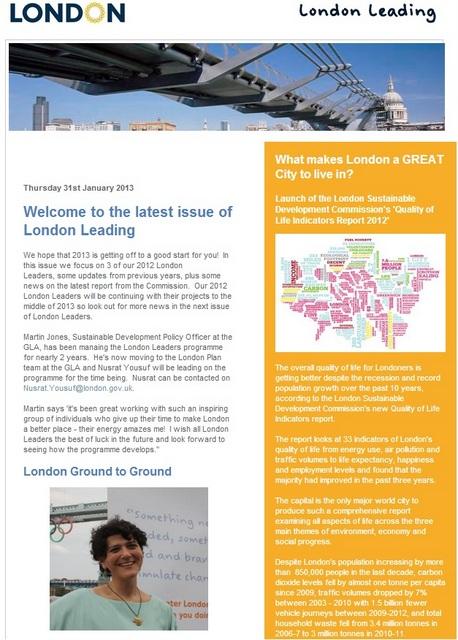 london leaders newsletters features Deborah Rothenberg