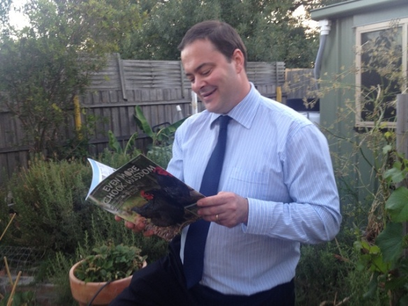 shane genziuk reading even more chook wisdom