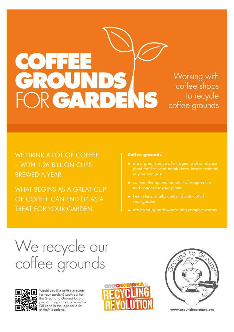 city of onkaparinga  u2013 recycling coffee with ground to