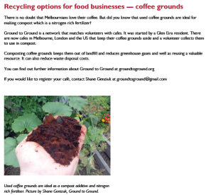 Glen Eira Council – Foodline Newsletter