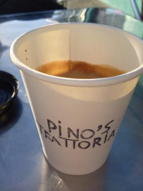Pino's Trattoria Giving out Used CoffeeGrounds