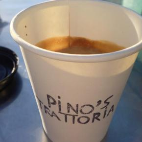 Pino's Trattoria Giving out Used Coffee Grounds