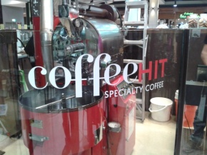 Coffee Hit – A fine place to collect coffee grounds