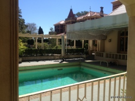 Swimming Pool from the manor