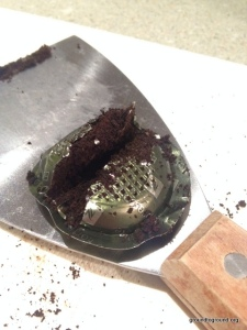 soap cutter coffee grounds