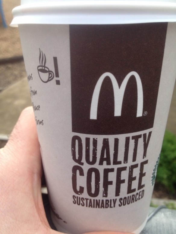 mcdonalds cafe coffee