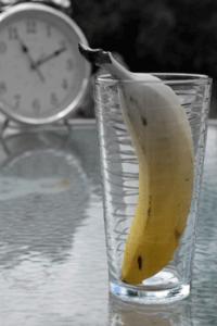 Banana In a Glass