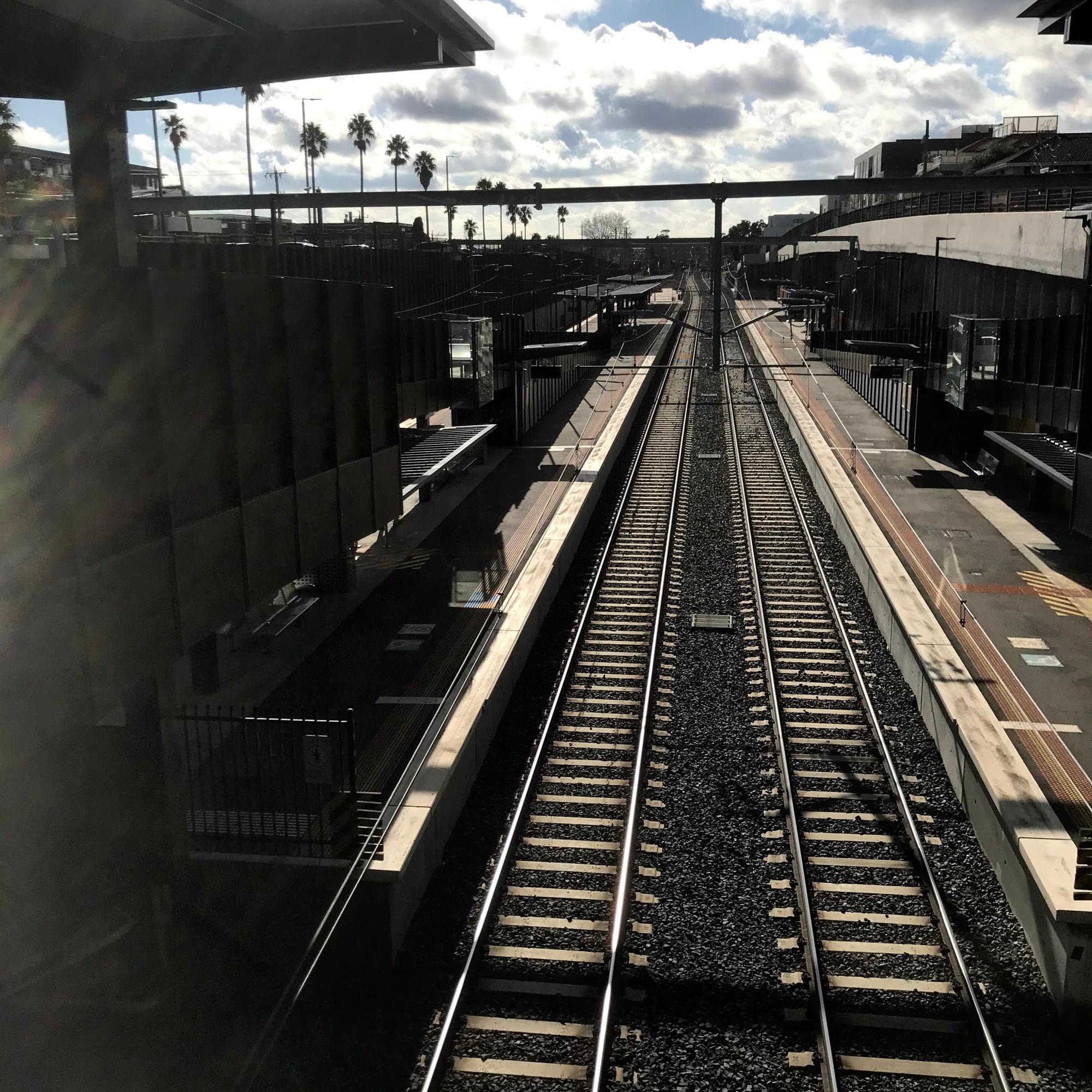 Frankstone Train Line